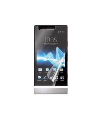 Invisible deluxe screen protector film for the Sony Xperia P LT22i