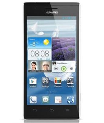 Invisible deluxe screen protector film for the Huawei Ascend P2