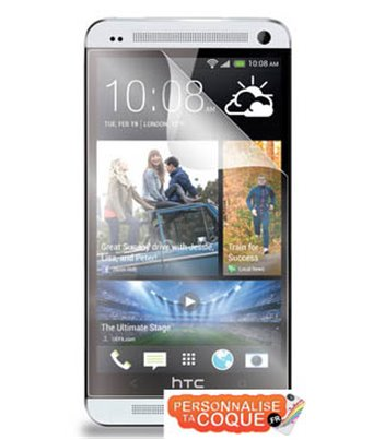 Invisible deluxe screen protector film for the HTC One Mini