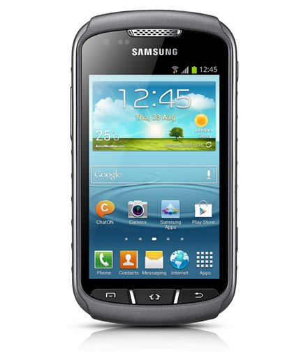 Invisible deluxe screen protector film for the Samsung Galaxy Xcover 2 S7710