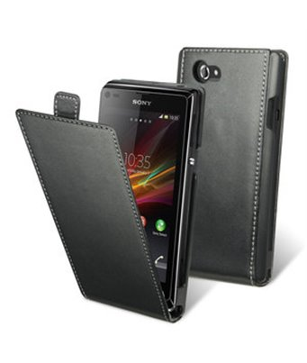 Personalised flip cover case for the Sony Xperia L S36h c2105