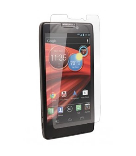Invisible deluxe screen protector film for the Motorola Razr HD