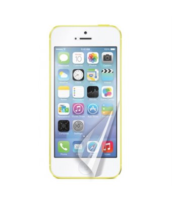 Invisible deluxe screen protector film for the Apple iPhone 5C