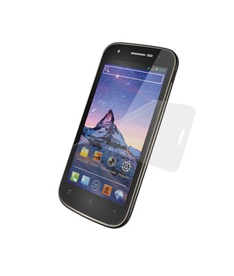 Invisible deluxe screen protector film for the Wiko Cink PEAX