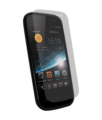 Invisible deluxe screen protector film for the Wiko Cink Slim