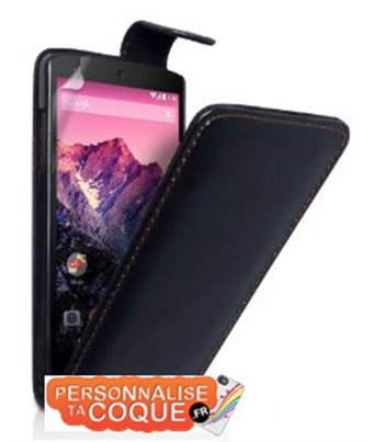 Personalised flip cover case for the LG Nexus 5