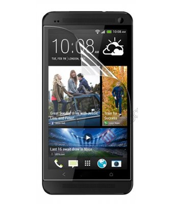 Invisible deluxe screen protector film for the HTC One Max