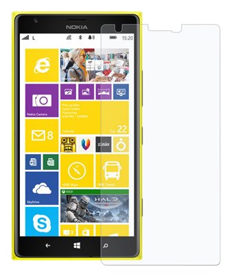 Invisible deluxe screen protector film for the Nokia Lumia 1520