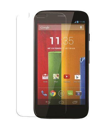 Invisible deluxe screen protector film for the Motorola Moto G