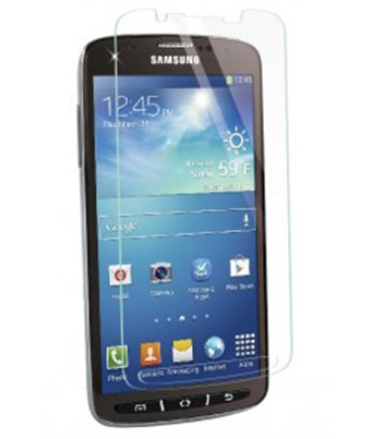 Invisible deluxe screen protector film for the Samsung Galaxy S4 Active