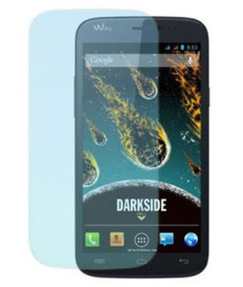 Invisible deluxe screen protector film for the Wiko Darkmoon