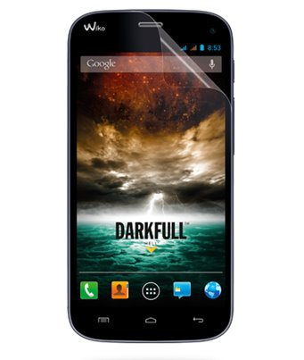 Invisible deluxe screen protector film for the Wiko Darkfull