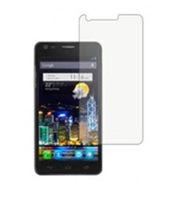 Invisible deluxe screen protector film for the Alcatel One touch Idol Ultra