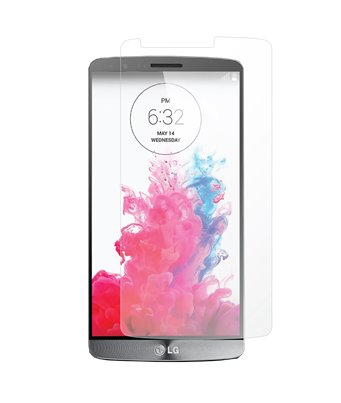Invisible deluxe screen protector film for the LG G3