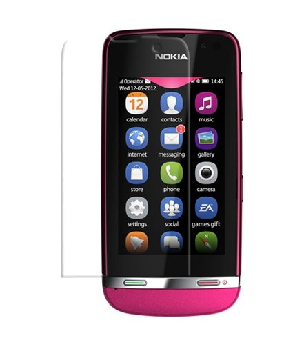 Invisible deluxe screen protector film for the Nokia Asha 311