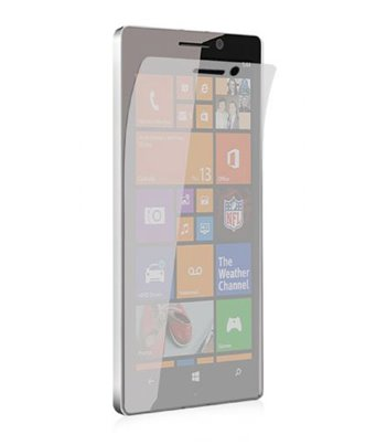 Invisible deluxe screen protector film for the Nokia Lumia 930