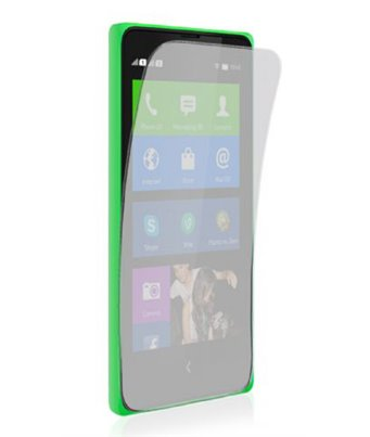 Invisible deluxe screen protector film for the Nokia XL