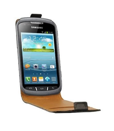 Personalised flip cover case for the Samsung Galaxy Xcover 2