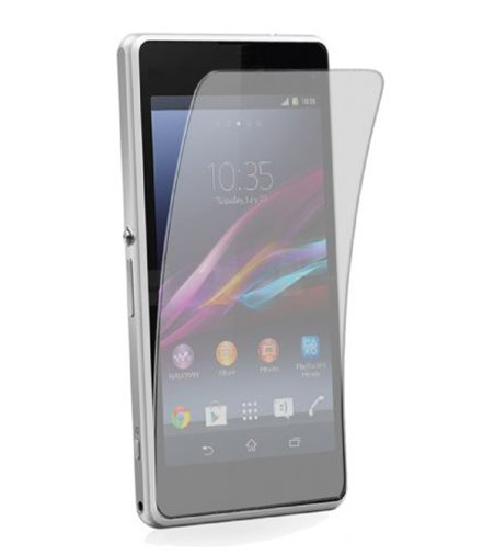 Invisible deluxe screen protector film for the Sony Xperia Z1 Compact