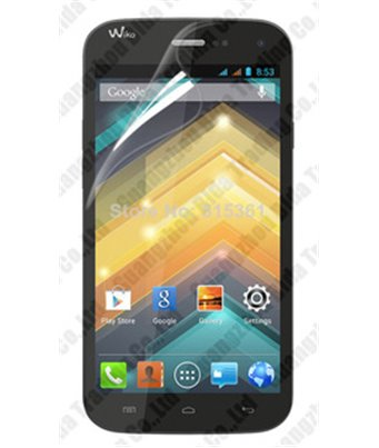 Invisible deluxe screen protector film for the Wiko Barry