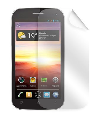 Invisible deluxe screen protector film for the Wiko Cink king