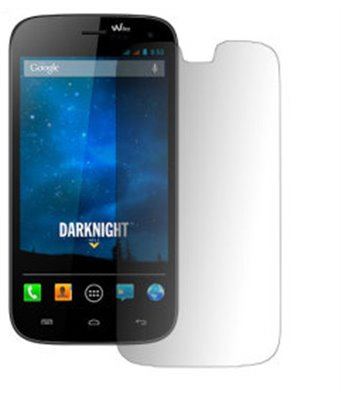 Invisible deluxe screen protector film for the Wiko Darknight