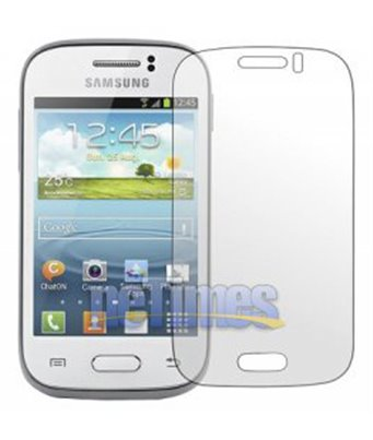 Invisible deluxe screen protector film for the Samsung Galaxy Young