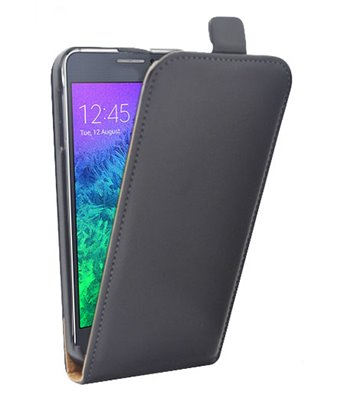 Personalised flip cover case for the Samsung Galaxy Alpha