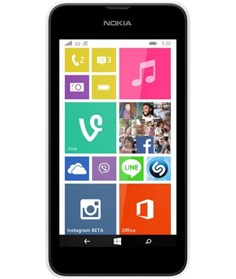 Invisible deluxe screen protector film for the Nokia Lumia 530