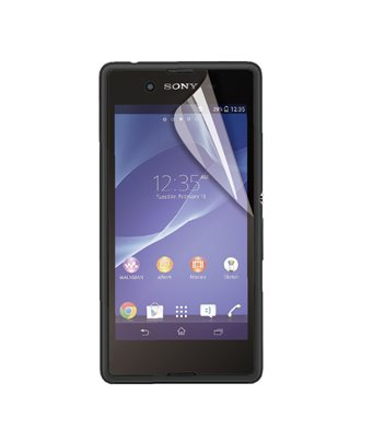 Invisible deluxe screen protector film for the Sony Xperia E3