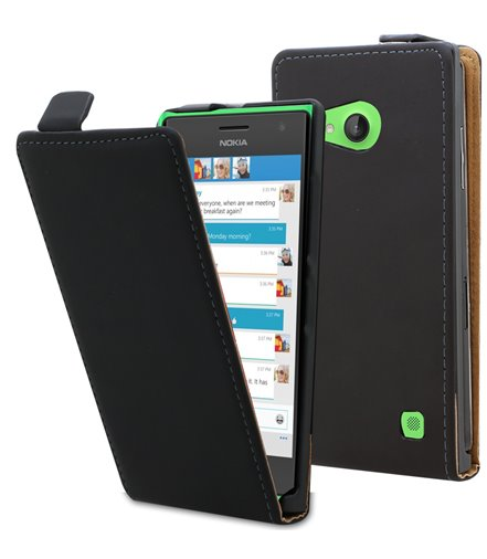 Personalised flip cover case for the Nokia Lumia 735