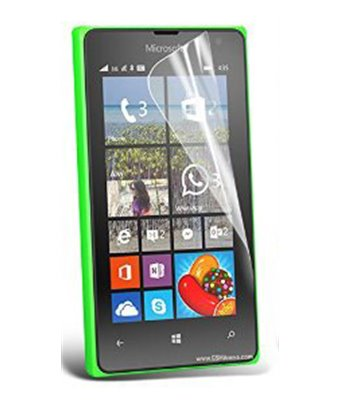 Invisible deluxe screen protector film for the Nokia Lumia 435