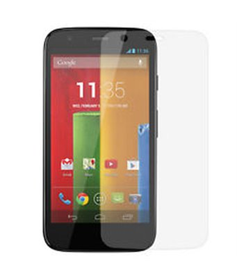 Invisible deluxe screen protector film for the Motorola Moto G 4G