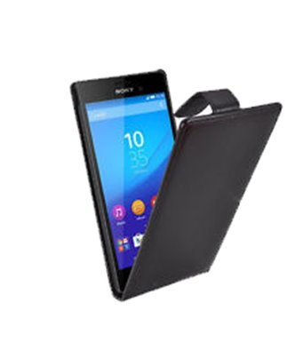 Personalised flip cover case for the Sony Xperia M4 Aqua