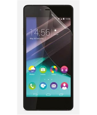 Invisible deluxe screen protector film for the Wiko Highway pure
