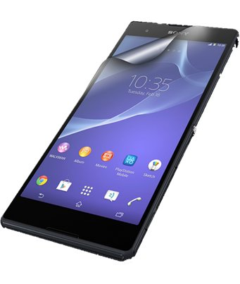 Invisible deluxe screen protector film for the Sony Xperia M2 Aqua