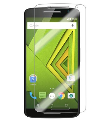 Invisible deluxe screen protector film for the Motorola X Play