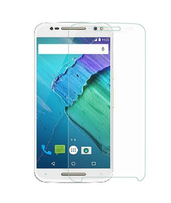 Invisible deluxe screen protector film for the Motorola X Style