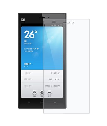 Invisible deluxe screen protector film for the Xiaomi M3