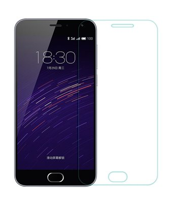 Invisible deluxe screen protector film for the Meizu M2
