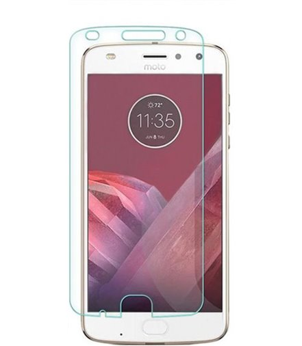 Invisible deluxe screen protector film for the Motorola Moto Z2 Play
