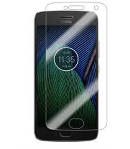 Invisible deluxe screen protector film for the Motorola Moto G5s Plus