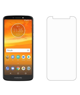 Invisible deluxe screen protector film for the Motorola Moto E5